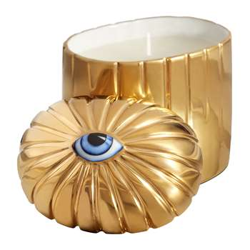 L'Objet - Lito Eye Candle - Gold (H8 x W12 x D10cm)