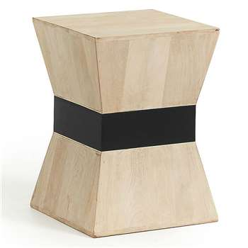LaForma - Hops Mango Wood Side Table (H48.5 x W35cm)
