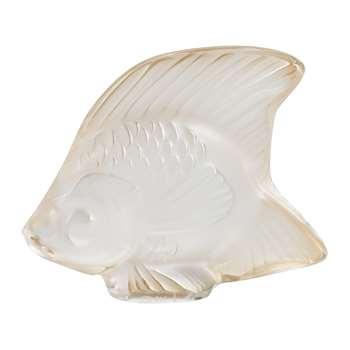 Lalique - Fish Figure - Gold Luster (H4.5)