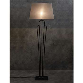 Lana Floor Lamp, Smoke (150 x 47cm)