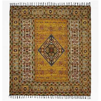 Large Amber Rug - Yellow (H180 x W180cm)