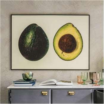Large Framed Avocado Print (H70 x W100cm)