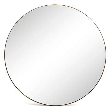 Large Milan Mirror (Diameter 80cm)