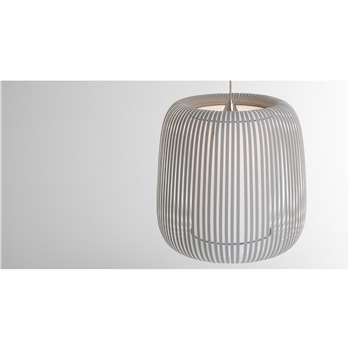 Large Polly Shade, Grey (94 x 48cm)