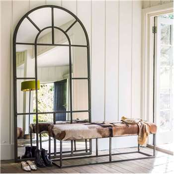 Large Window Pane Mirror (H207 x W109cm)