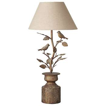 Lark Table Lamp - Antique Gold (56 x 26cm)