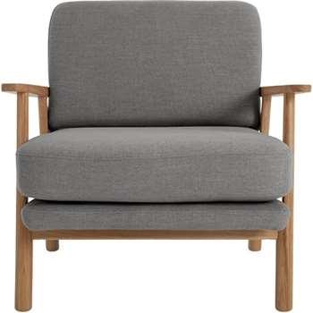 Lars Accent Chair, Diego Grey (74 x 70cm)