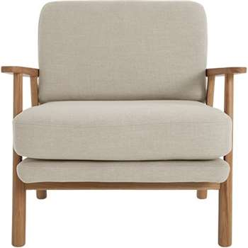 Lars Accent Chair, Diego Natural (74 x 70cm)