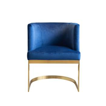 Lasco Dining Chair Navy (H75 x W60 x D60cm)