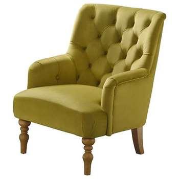 Laterna  Armchair - Olive (H90 x W72 x D85cm)