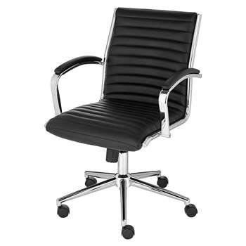 Latimer Office Chair - Black (H92 x W67.5 x D72.5cm)