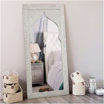 LATIPUR wooden mirror H 160cm