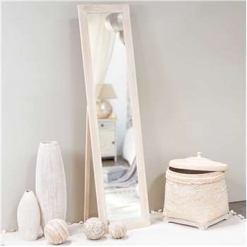 LAURE wood cheval mirror H 150 cm