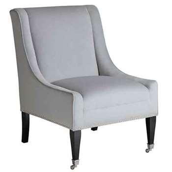 Lauren Lounge Chair Dove Grey (91 x 66cm)