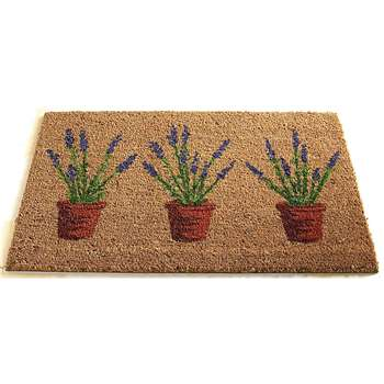 Lavandula/Lavender Mat - Brown (H45 x W75cm)