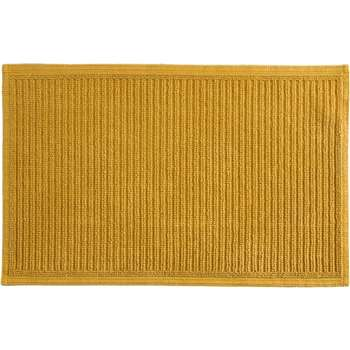Laza 100% Cotton Bathmat, Mustard (50 x 80cm)