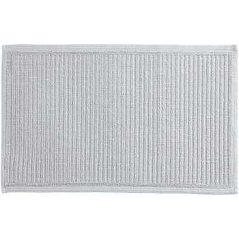 Laza 100% Cotton Bath Mat, Silver Grey (H50 x W80cm)