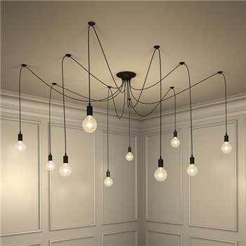 Le Roux Vintage Pendant Light (Height 175cm)