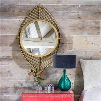 Leaf Mirror (H99 x W64 x D11cm)