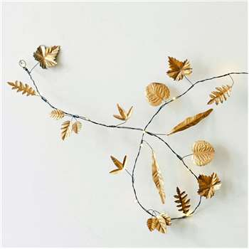 Leaves String Lights (Illuminated Length 180cm)