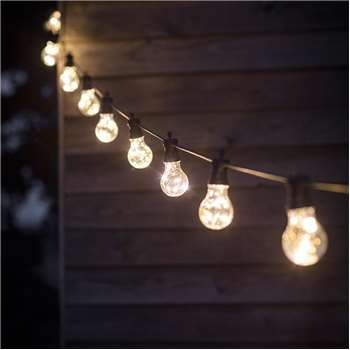 Led Festoon Outside Lights with 10 Or 20 Bulbs - 10 Bulb