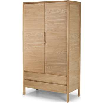 Ledger Wardrobe, Oak (200 x 110cm)