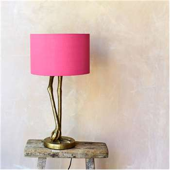 Gold Leggy Flamingo Table Lamp (H60 x W31 x D31cm)