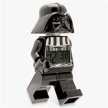LEGO Star Wars Darth Vader Alarm Clock (H23 x W14 x D8cm)