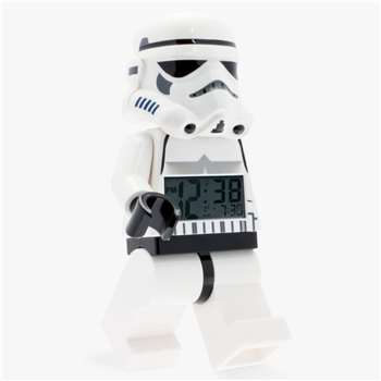 LEGO Star Wars Stormtrooper Alarm Clock (H23 x W14 x D8cm)