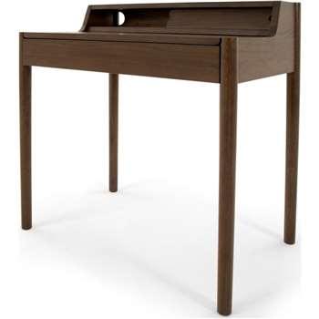Leonie Compact Desk, Dark Stain Oak (H87 x W79 x D50cm)