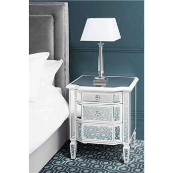 Leonore Bedside Table (60 x 50cm)