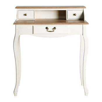 LÉONTINE Wooden writing desk (95 x 82cm)