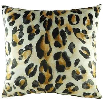 Leopard Print Cushion (H43 x W43cm)