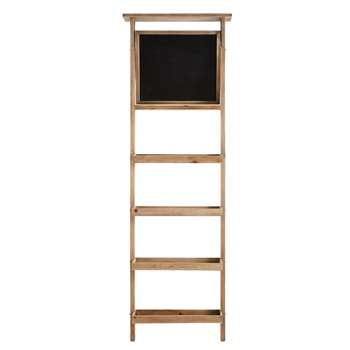 LEOPOLD Shelving Unit with Blackboard (176 x 58cm)