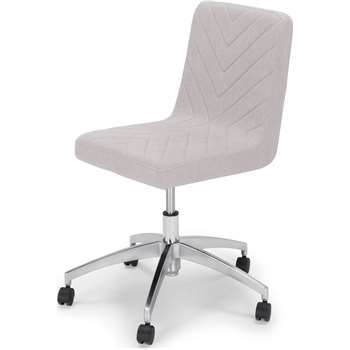 Lex Office Chair, Cloud Grey (81 x 63cm)