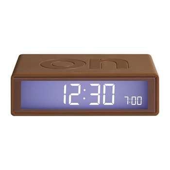 Lexon - Flip Clock - Copper (H2.9 x W10.5 x D6.5cm)