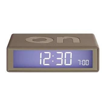 Lexon - Flip Clock - Rose Gold (H2.9 x W10.5 x D6.5cm)