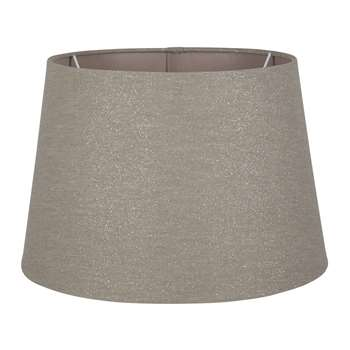 Liberace Tapered Shade Grey (H17.2 x W25.5 x D25.5cm)