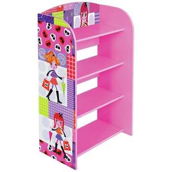 Liberty House Fashion Girl Bookcase (H71 x W61 x D30cm)