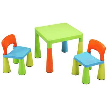 Liberty House Multi-Coloured Table and Chairs Set