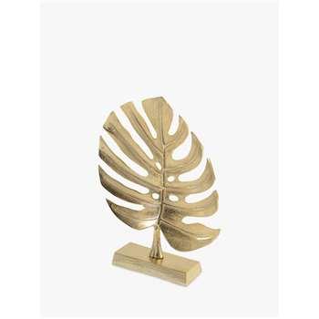 Libra Monstera Plant Leaf Sculpture (H41 x W32 x D7cm)