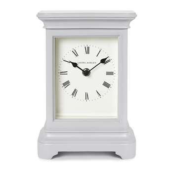 Library Large Mantel Clock Dove Grey 22 x 16cm