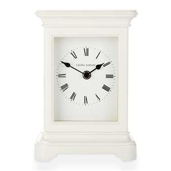 Library Large Mantle Clock Cream (23 x 15.5cm)