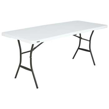Lifetime 6ft Folding Table at Argos (H73.6 x W91.4 x D69.9cm)