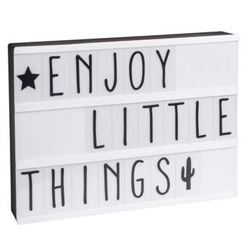 LIGHTBOX A4 Light Box with Message (30 x 22cm)