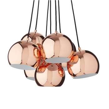 Koge Ball Multi Pendant, Stainless steel, Copper, 14.5 x 18cm