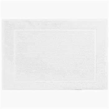 Lightweight Cotton Bath Mat, White (50 x 70cm)