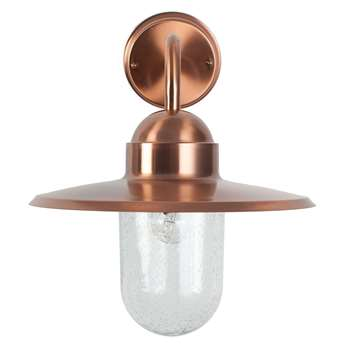 Lilium Outdoor Wall Bracket Copper (H30.3 x W29.4 x D29.4cm)