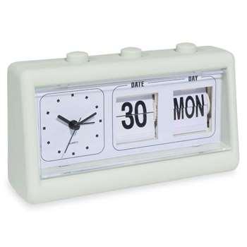 LILO light green flip clock (12 x 19cm)