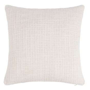 LILY Ivory Cotton Cushion Cover (40 x 40cm)
